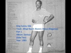 King Sunny Ade - Alhaji Rasak Akanni Okoya (Eleganza)